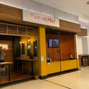 Fachada Restaurante Pastel Mel Aurora Shopping/Londrina